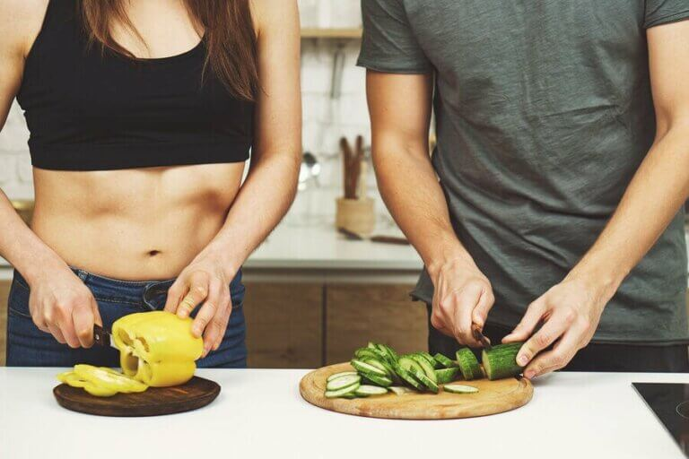 Man kan opbygge muskelmasse med en vegetarisk kost