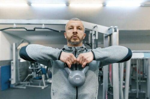 Hvordan man kan opbygge muskler efter 40-års-alderen