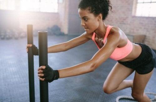 Bewegungen, zu denen ein gesunder Mensch in der Lage sein sollte
