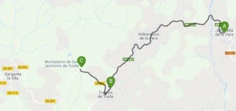 Carlos V Route