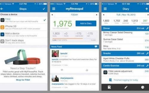 Fitness Kalorienzähler-Apps: MyFitnessPal