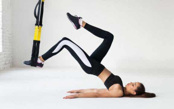 6 TRX-Übungen für Radfahrer und ihre Wirkung