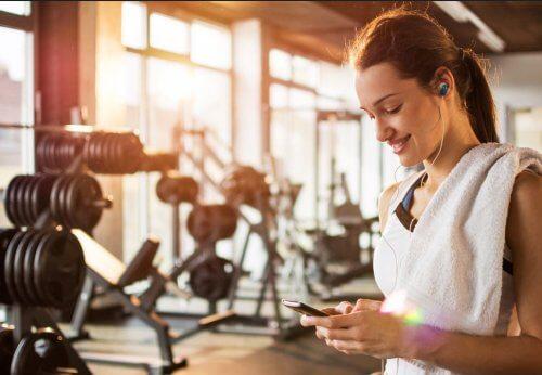 Online-Fitnessstudio