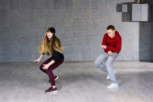 Tanzen, um fit zu bleiben