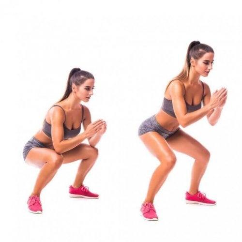 Übungen ohne Geräte