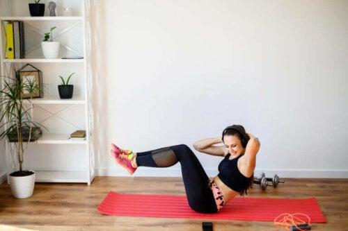 Einfache CrossFit-Übungen für zuhause