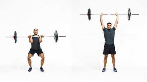 CrossFit-Training: Push Press