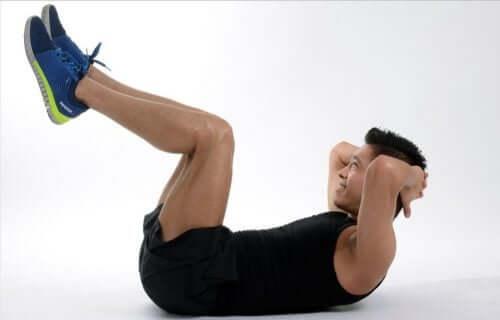 flachen Bauch - Bauchübung