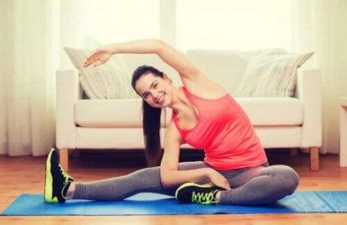 Cardio-Übung für Zuhause