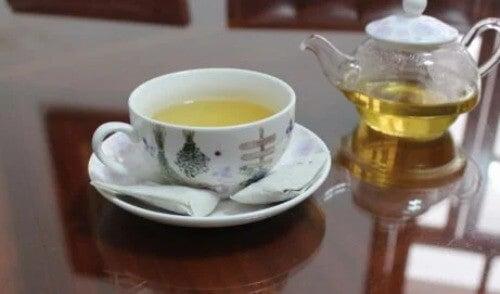 Tee trinken ist gesund
