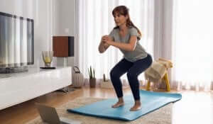 Trainingsplan für Frauen - Squats