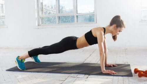 stärkere Bauchmuskeln-Planks