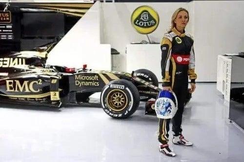 Frauen in der Formel 1 - Carmen Jorda