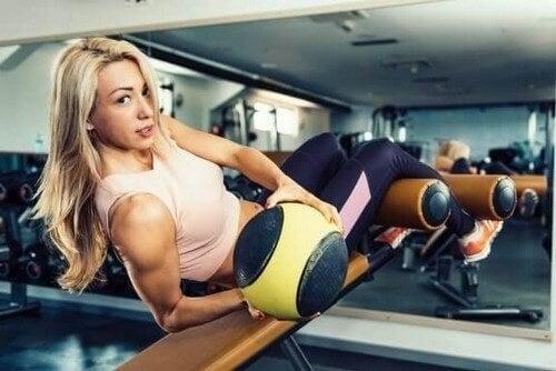 Definierte schräge Bauchmuskeln in 5 Schritten