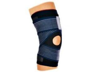 Kniebandagen mit Velcro-Bändern