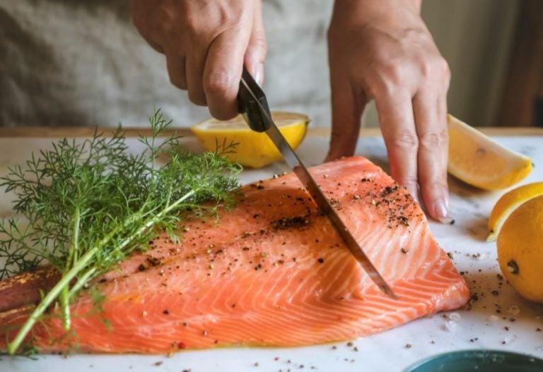 Une manière différente de préparer le saumon