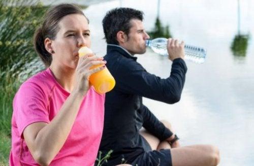 Comment devrions-nous manger après un défi sportif