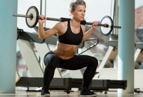 squat-barre