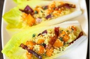 Recette d'endives au quinoa pour Noël