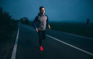 courir le soir