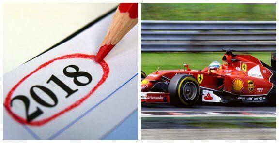 Découvrez le calendrier de Formule 1