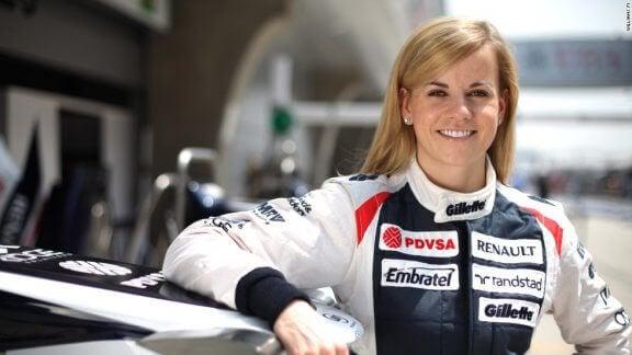 Les femmes dans la Formule 1