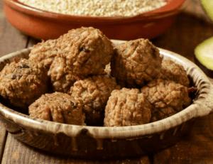 Recette de boulettes de soja végétaliennes