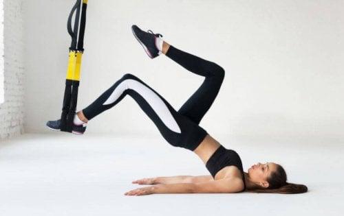 Exercices de TRX pour cyclistes
