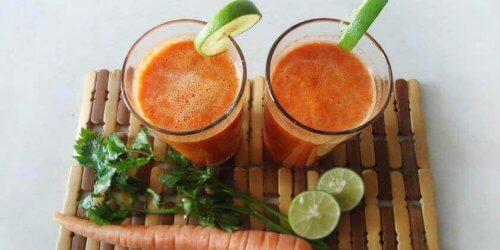 Jus betterave carotte orange