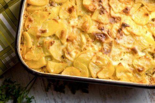 Recettes saines avec des pommes de terre