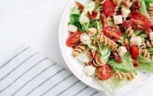 Recette de salades de pâtes