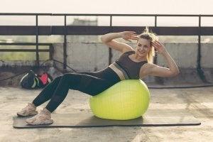 Les pilates et le genou