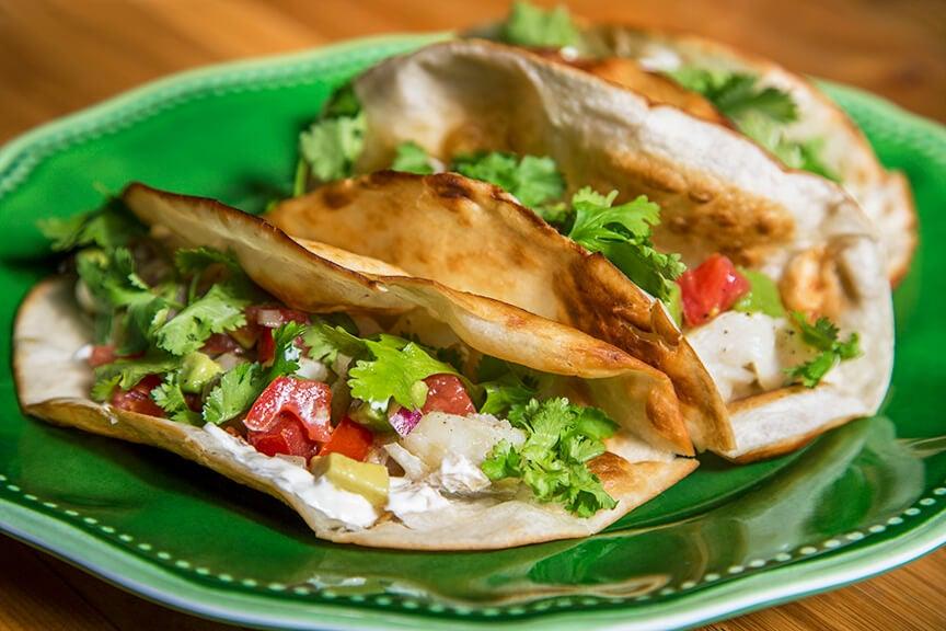 tacos au poisson - meilleures recettes à base de poisson