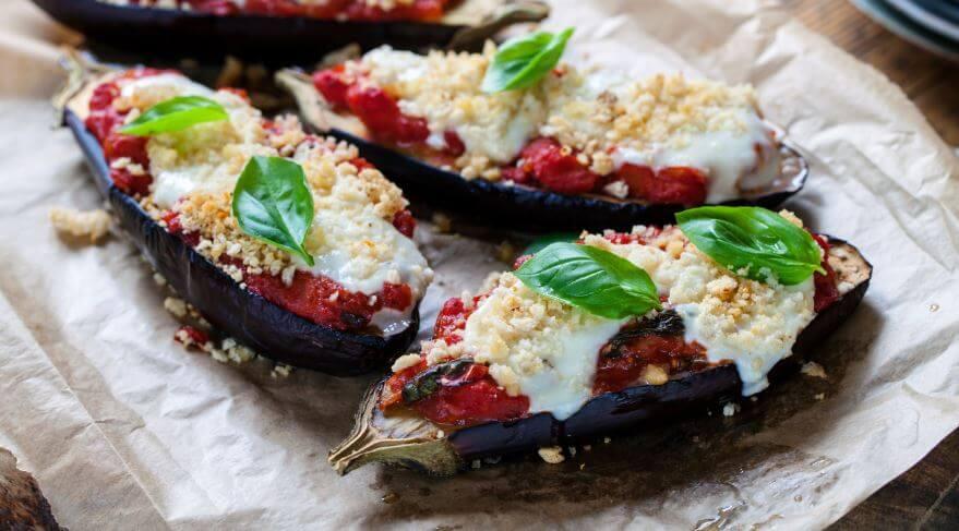 Aubergines siciliennes - recettes du régime méditerranéen