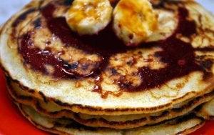 Crepes saines pour le petit-déjeuner