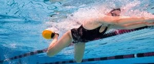 La nage à l'âge adulte