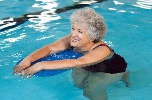 Faire du sport dans l'eau