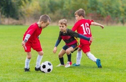 L'alimentation chez les enfants sportifs