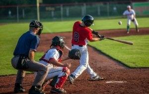 Un match de baseball