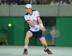 Andy Murray effectue un revers