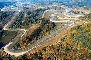 Le circuit moto GP de Brno