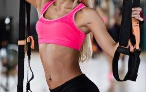 Exercices de musculation du ventre.