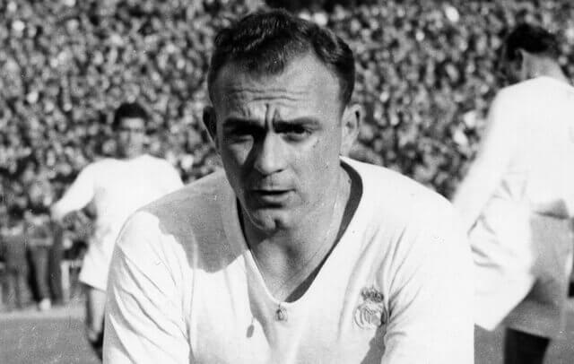 Portrait du footballeur Alfredo di Stefano