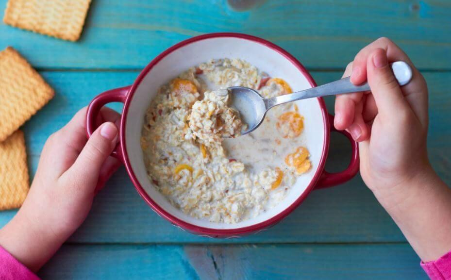 Du porridge pour le petit déjeuner