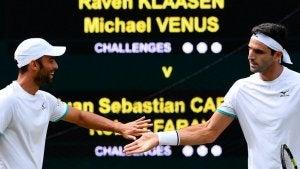 Juan Sebastian Cabal et Robert Farah, l'un des meilleurs couples de tennis actuels.