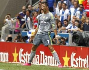 Cristiano Ronaldo lors d'un match.