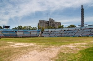 Ancien stade de football.