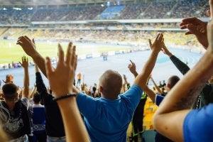 Supporters lors d'un match.