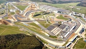 Le circuit F1 de Silverstone au Royaume-Uni.