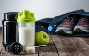smoothie protéiné pour le sport